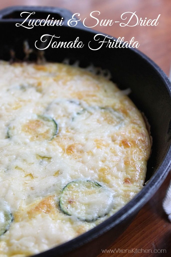 Zucchini and Sun-Dried Tomato Frittata | Recipe | Other ...