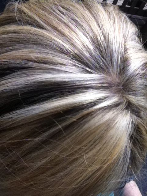 19 best blond highlights images on pinterest braids blond partial highlight to cover roots of blonde highlights on medium brown hair after 5 weeks pmusecretfo Gallery