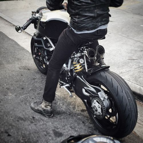 Custom Ducati #caferacer