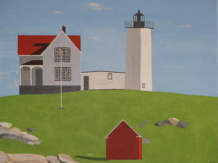 """Cape Neddick Light"""
