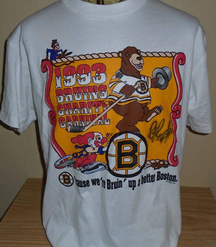 FREE Shipping vintage 1993 Boston Bruins Hockey t shirt large by vintagerhino247 on Etsy
