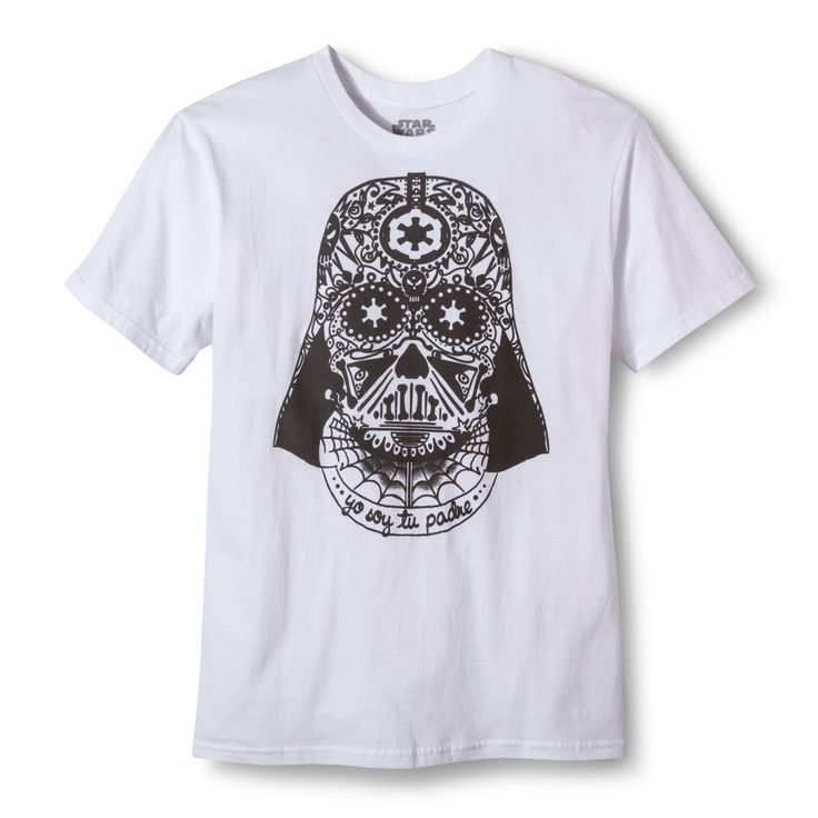 Men's Star Wars Soy Tu Padre Darth Vader T-Shirt - White Xxl