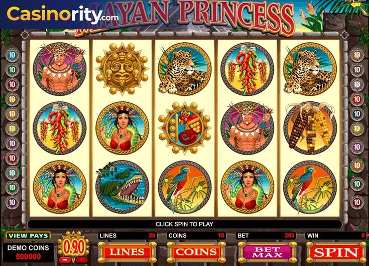 Review The Mayan Princess Slots With No Download