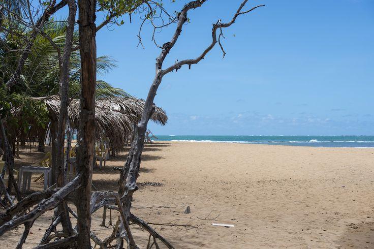 A tranquilidade da praia de Tabuba