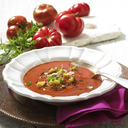 Italienische Tomatensuppe Rezept
