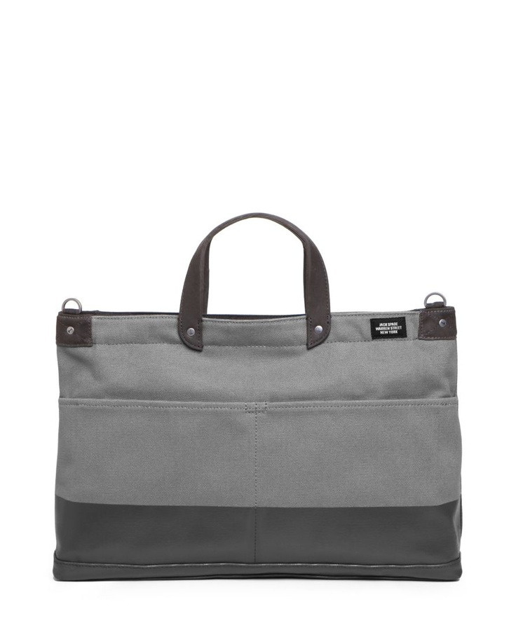 [jack spade] industrial canvas dipped york brief