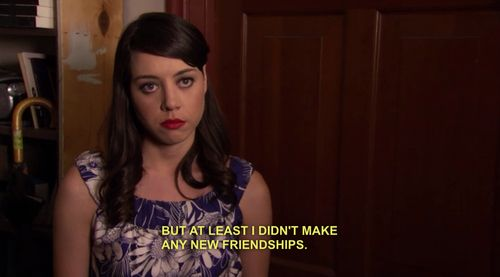 "The 20 Most Relatable April Ludgate Quotes From ""Parks And Recreation"", She is me."