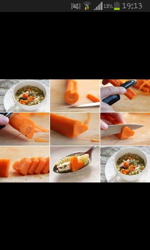Hartjes wortels ♡