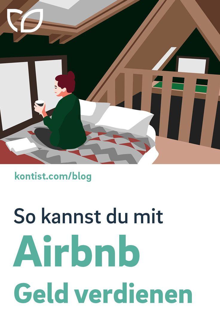 Wie ich mit Airbnb Geld verdienen kann   Geld verdienen ...