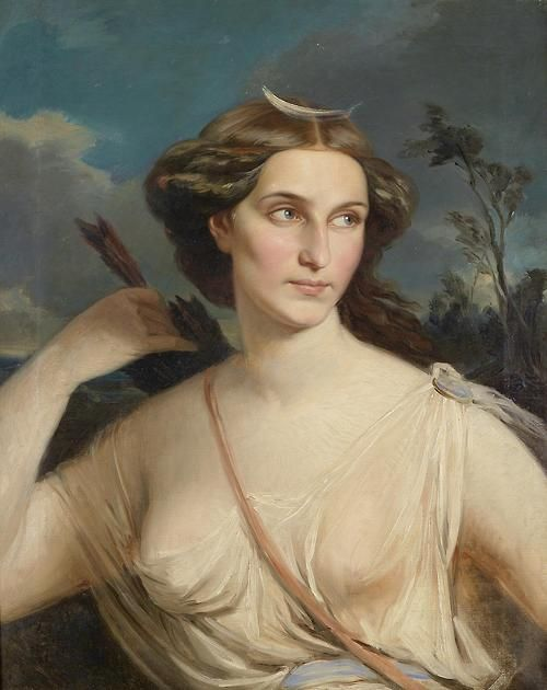 Artemis (Diana) Virgin #Goddess of the #Hunt http://www.pinterest.com/angelafraleigh/hunting-scenes/