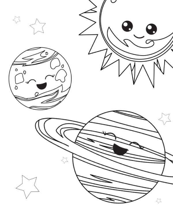 Free Printable Space Coloring Pages For Kids Art For