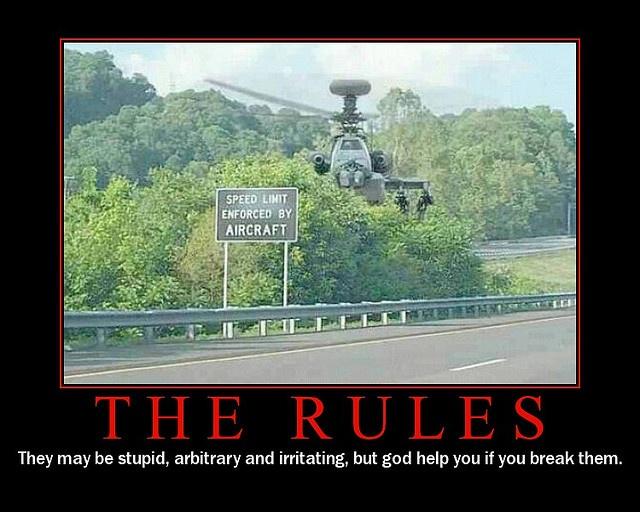 speed limit - obey it