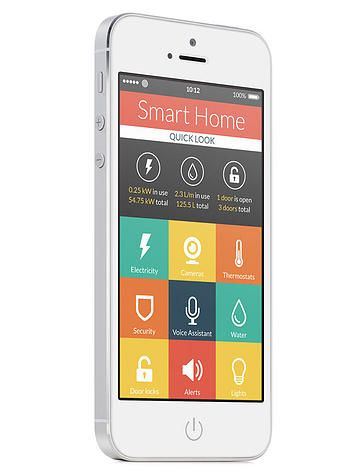 iBeacon Smart Home iBeacon can also be used to communicate with Bluetooth-smart devices to trigger events - e.g. turning electric appliance , security on/off or locking doors ....etc, and this will be our next step.
