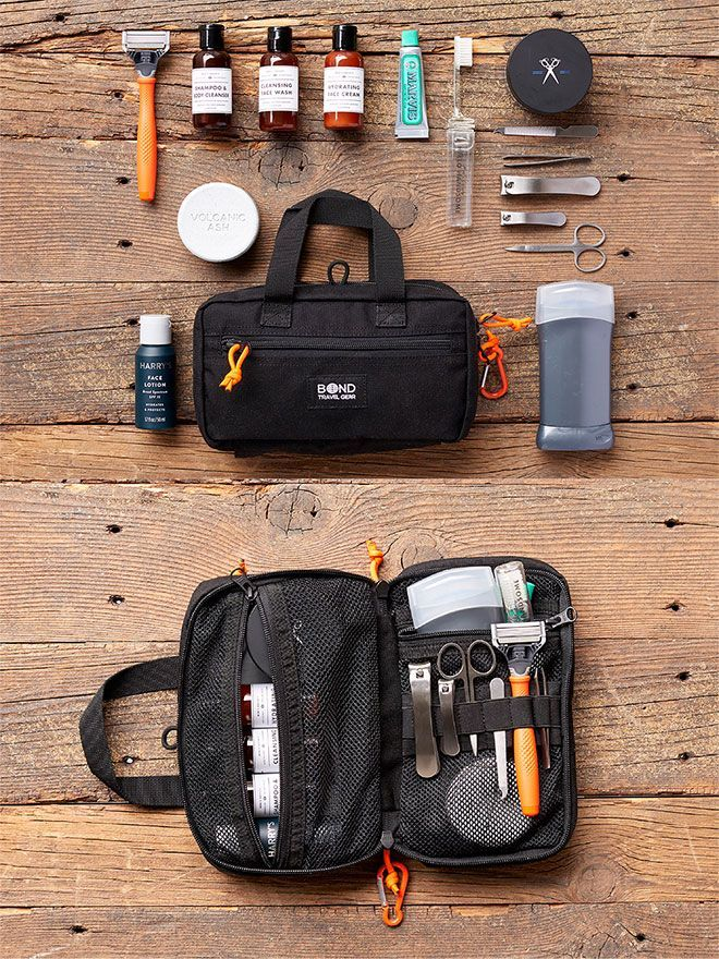 BOND Travel Gear DASH Dopp Kit | EDC | Pinterest | Kit, Dopp kit und ...