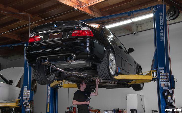 A Jet Black BMW E46 M3 Gets A Supercharger - http://www.bmwblog.com/2016/11/21/jet-black-bmw-e46-m3-gets-supercharger/