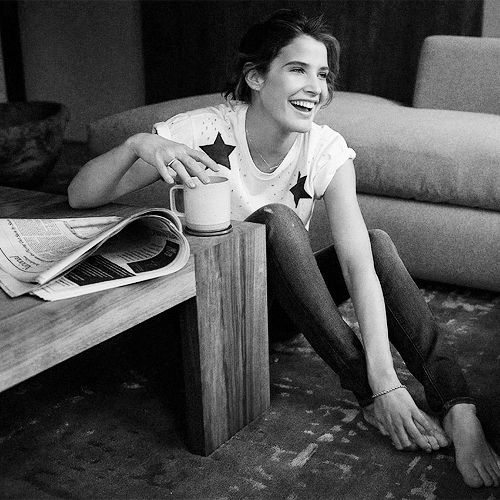 I adore this pic ❤️ Cobie Smulders  Women's Health   May 2015
