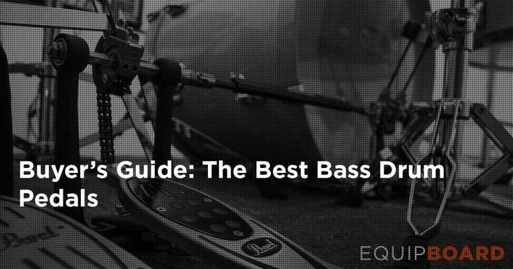 Need to kick it up a notch? Check out the top bass drum pedals around in our gear guide.