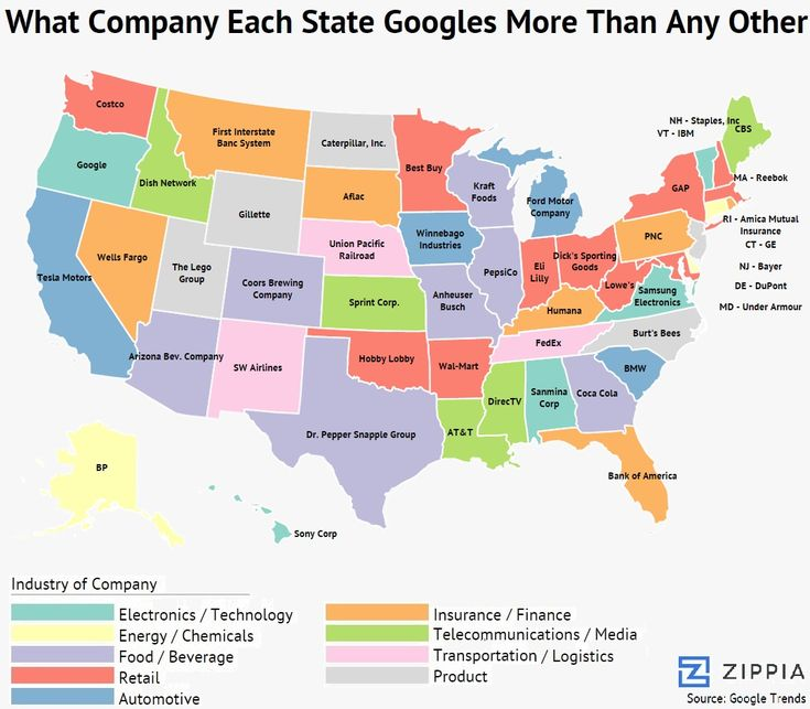 Best Mapas Images On Pinterest United States Infographics - Us map by state and companies
