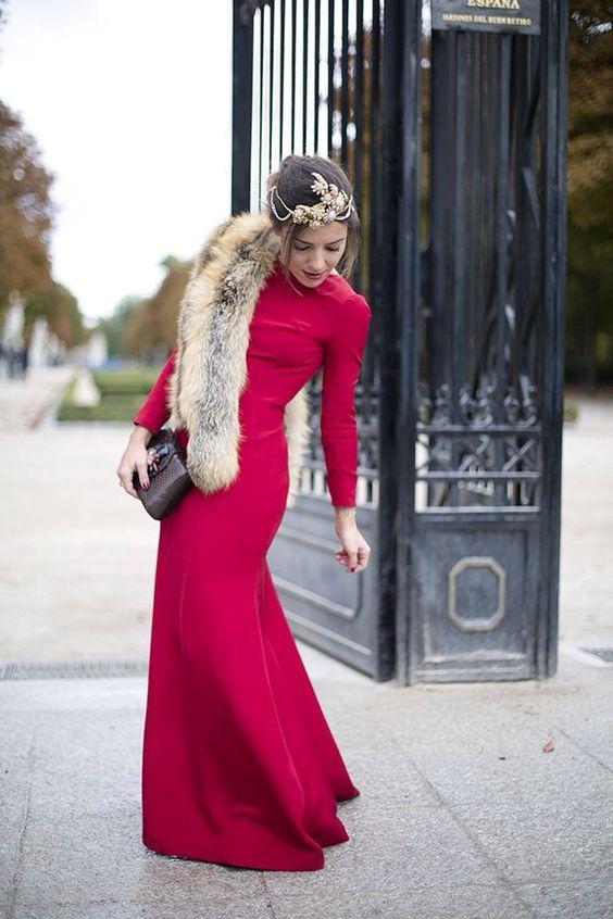 Vestidos de novia para epoca de frio