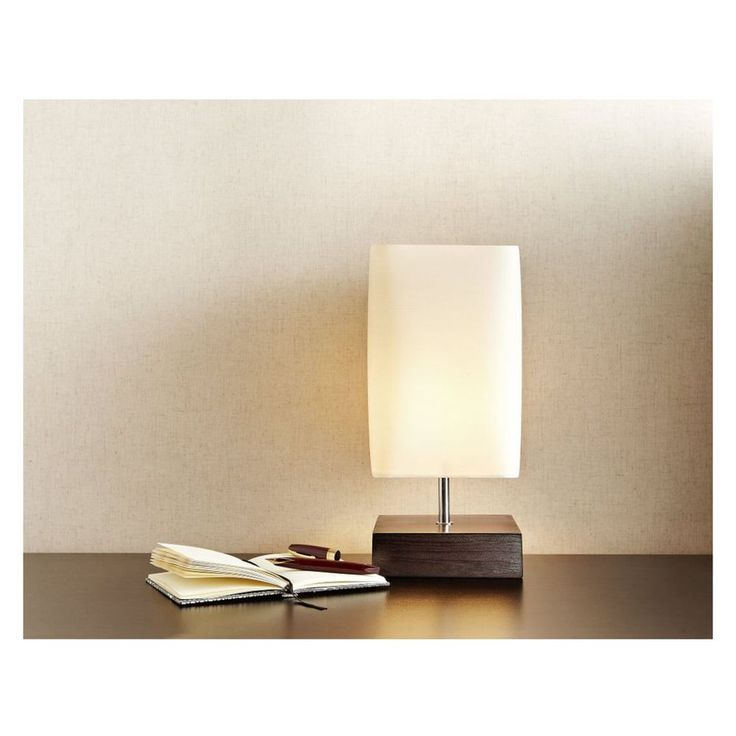 Searchlight Beatrice Dark Wood Table Lamp with Cream Shade