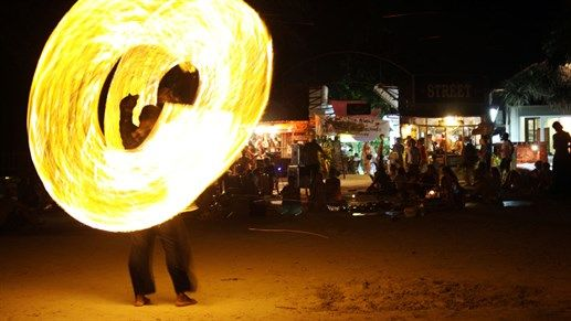 Places to visit in 2016: Full moon party in Koh Phangan,Thailand #KILROY #Thailand #party #firedance #fire