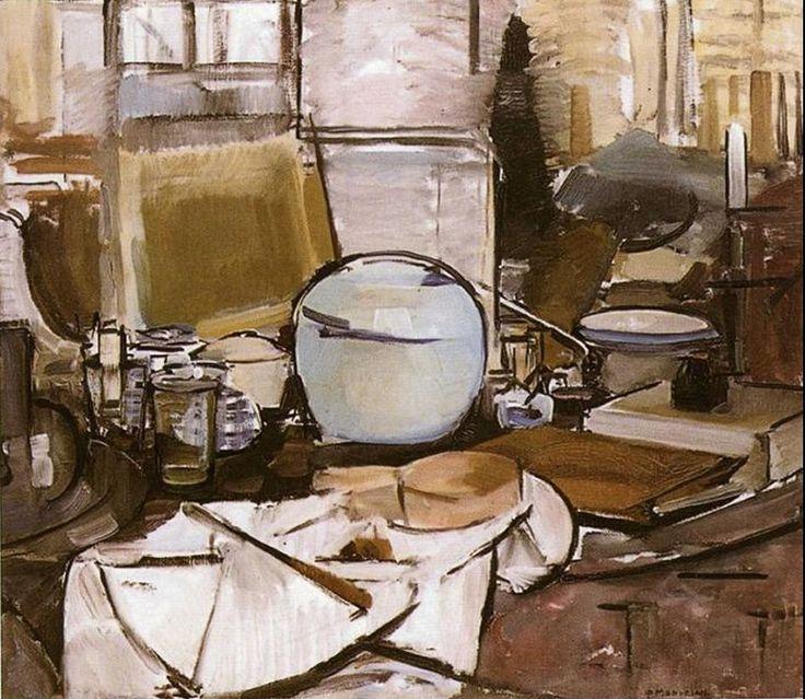 Piet Mondrian - Natura morta con vaso di zenzero I - 1911, olio su tela, 65,5 x 75 (L'Aia, Gemeentemuseum)