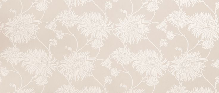 Kimono Mauve Floral Wallpaper at Laura Ashley