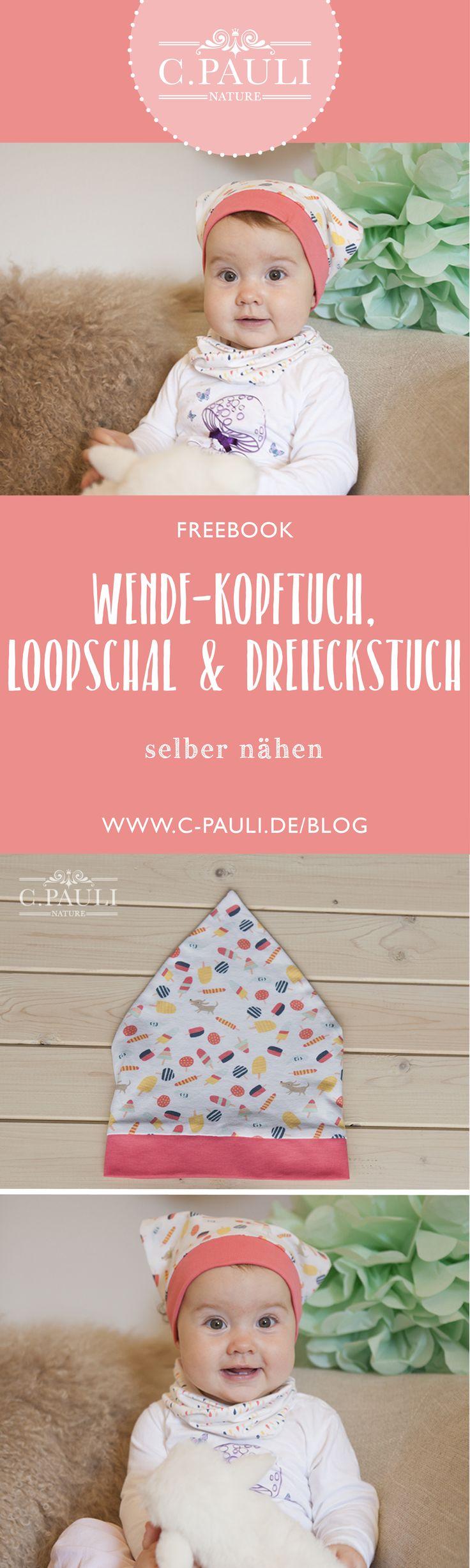 Babykopftuch + Loopschal und Halstuch | C.Pauli Nature Blog