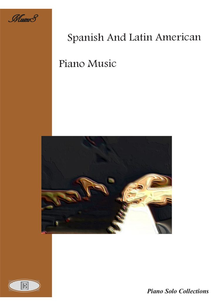Spanish And Latin American Piano Music.  Practice piano, learn and at the same time enjoy melodies of the 18th century. Practice on scales, dynamics, and phrasing. Includes 8 piano short pieces. Includes downloadable mp3's.