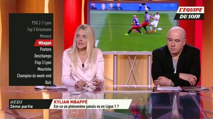 """Foot - L1 - Kylian Mbappé est-il un phénomène jamais vu en Ligue 1 ? La question a animé les débats lundi soir sur le plateau de L'Équipe... [button color=""""black"""" size=""""medium"""" link=""""http://www.lequipe.fr/Football/A... http://www.lequipe.fr/Football/Actualites/Kylian-mbappe-est-il-un-phenomene-jamais-vu-en-ligue-1/787285#xtor=RSS-1"""