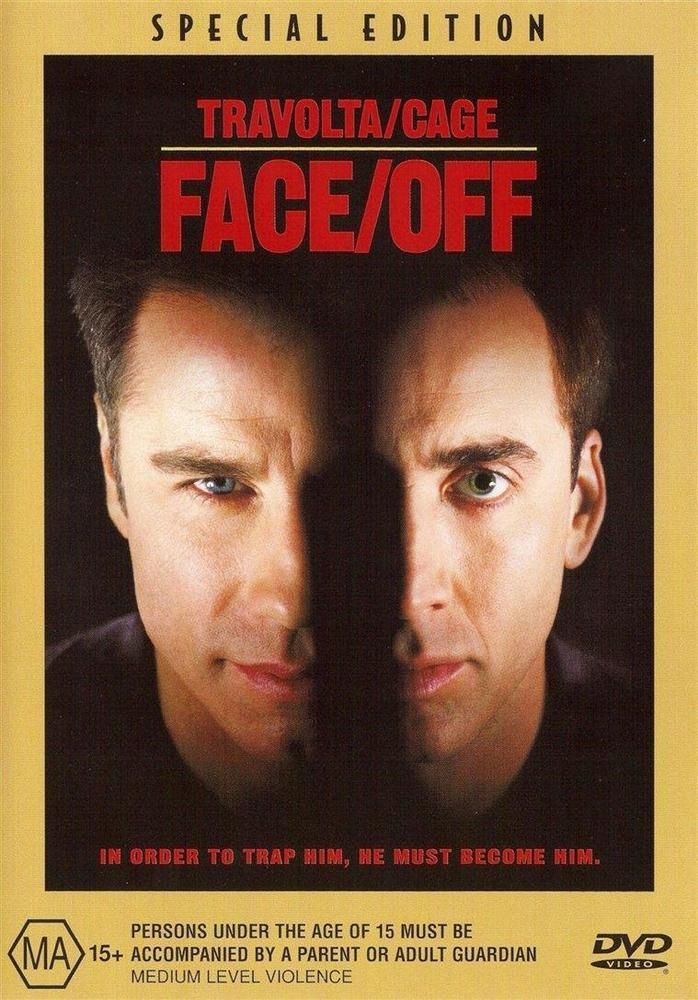 Face/Off (DVD, 2001) As New John Travolta Nicolas Cage John Woo #dvd #movies