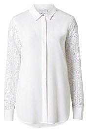 Silk Lace Shirt
