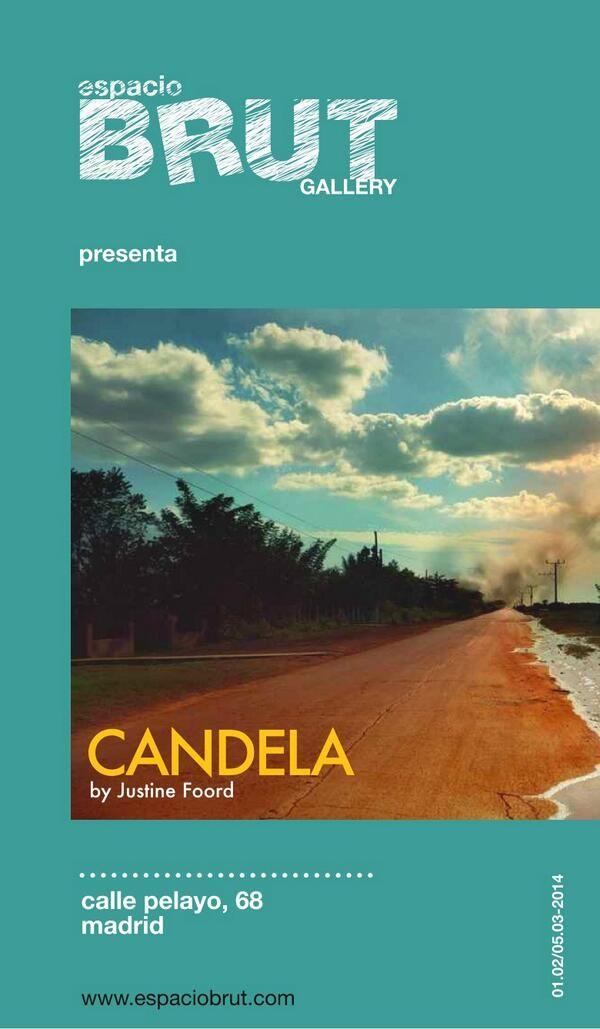 CANDELA by Justine Foord, during February in espacioBRUT