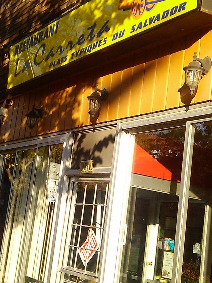 La Carreta - Montreal My favourite place for pupusas