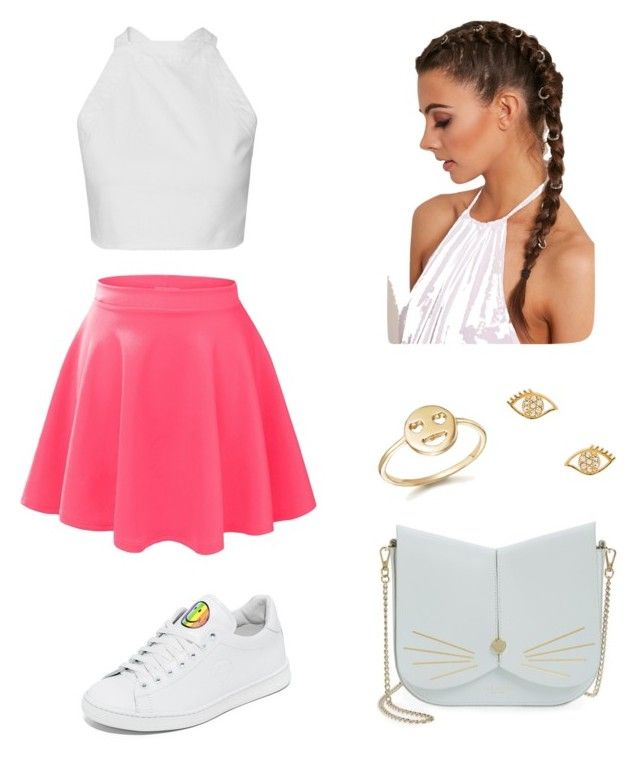 """Pink"" by maleja-castro-torres on Polyvore featuring moda, LE3NO, Joshua's, Bing Bang, Rebecca Minkoff y Ted Baker"