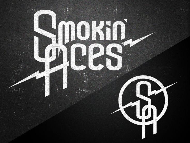 Logo design - Logo suunnittelu rock bändi Smokin' Aces #logo #design #logodesign #smokinaces