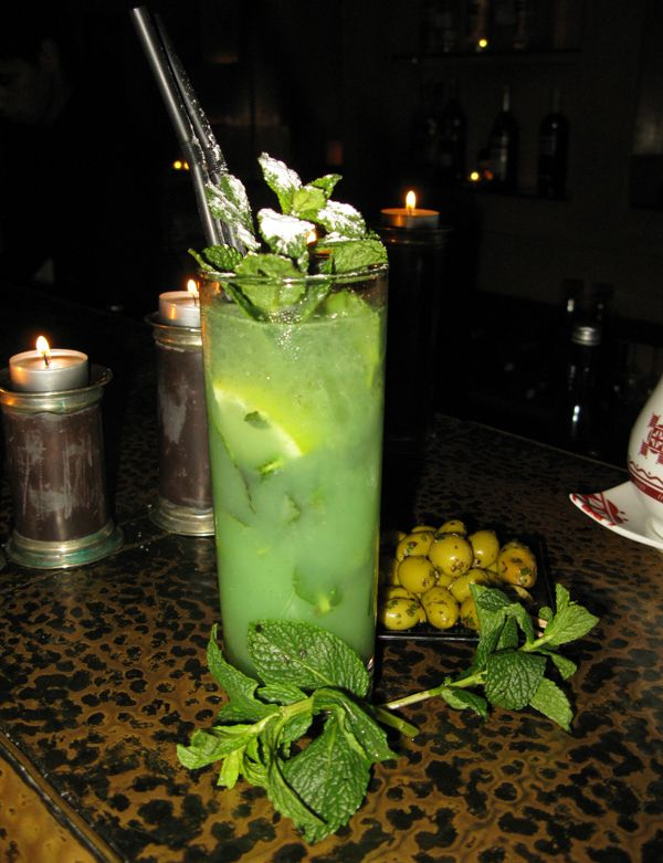 "Recipe for the ""Moroccito"", a very Moroccan take on the Mojito from La Maison Arabe in Marrakech"
