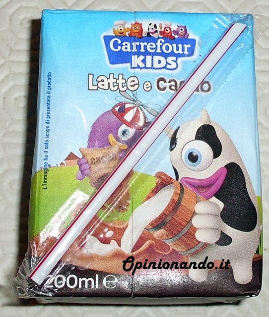 Carrefour Kids Latte e Cacao Brick - #Recensione #Opinionando