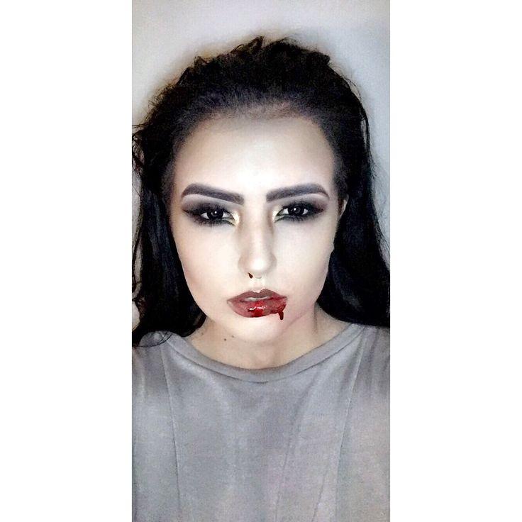 #MakeupByMeg #Vampy #Blood