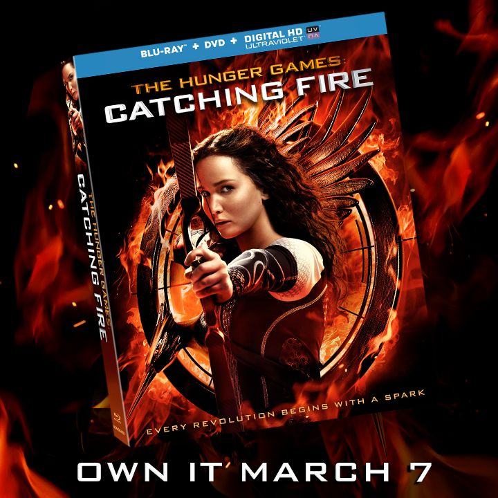 Own the biggest movie of 2013! Pre-order your copy of the #CatchingFireDVD now at: http://www.CatchingFireMovie.com