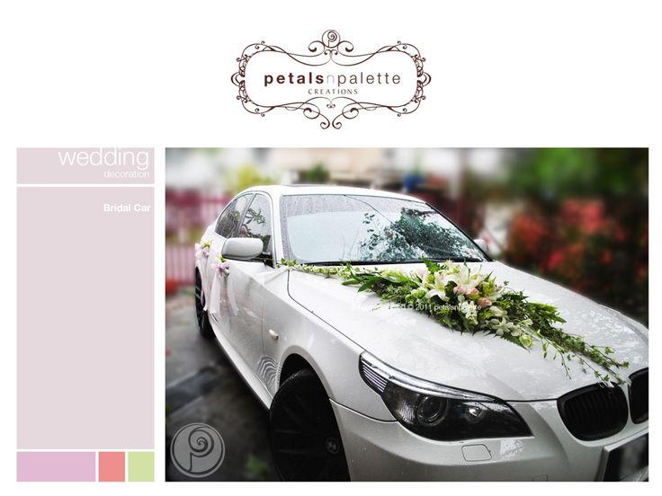 Bridal Car Wedding Decoration Malaysia Fl Design Event Styling