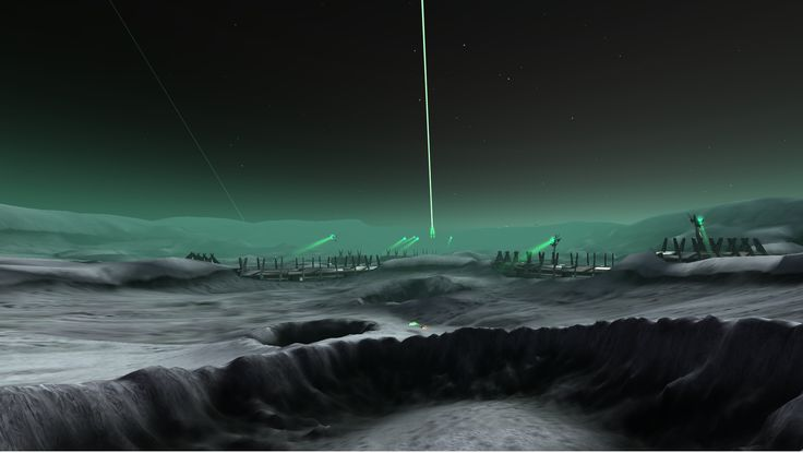 Pirate Galaxy - The Moon Krygar laser.