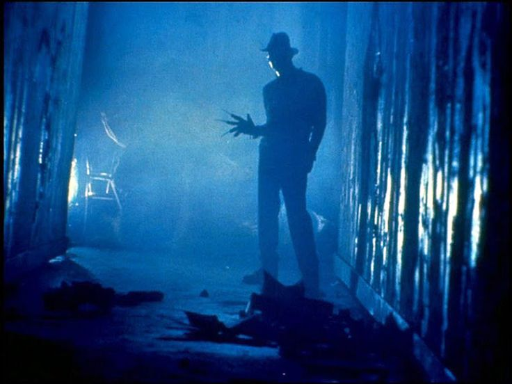 Nightmare on Elm Street () - WS. Canted angle.