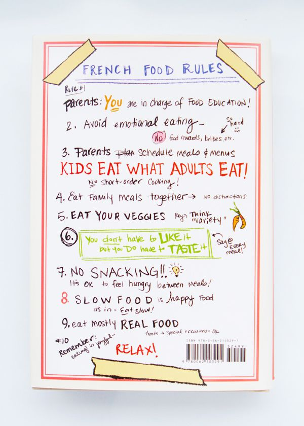 "#FRENCHFOOD - French rules and manners, ""l'art de manger en France"""