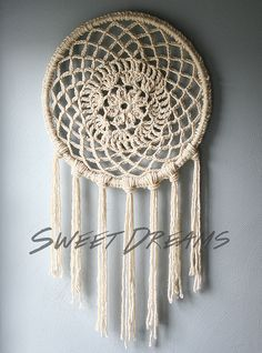 DIY - Big Dreams Dream Catcher by Caught On A Whim, via Flickr