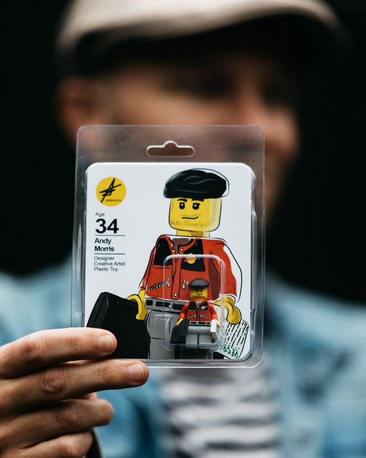 Design graduate Andy Morris uses Lego minifigure as his CV