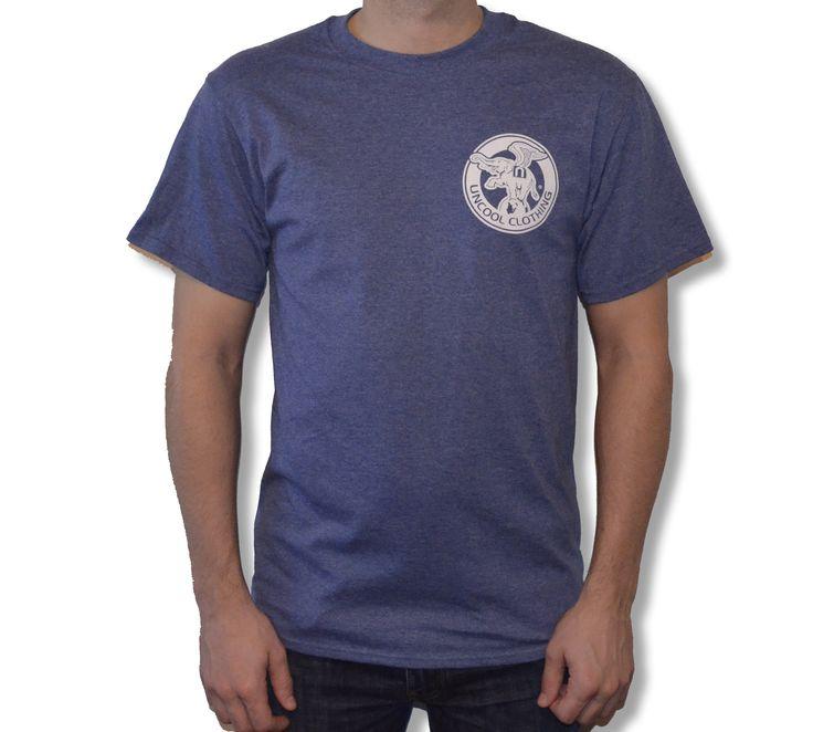 men's circus t-shirt• regular fit• neck rib• open hem stitching details• left chest print• 50% Cotton/50% Polyester