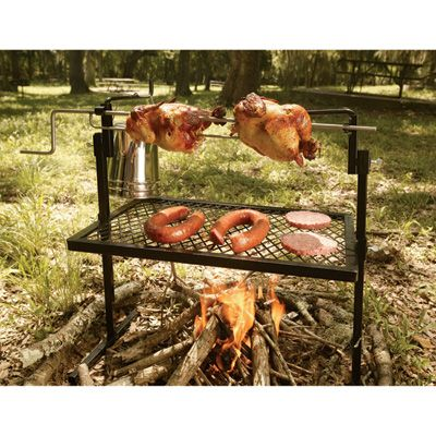 Texsport Rotisserie Grill and Spit — Done to a Turn