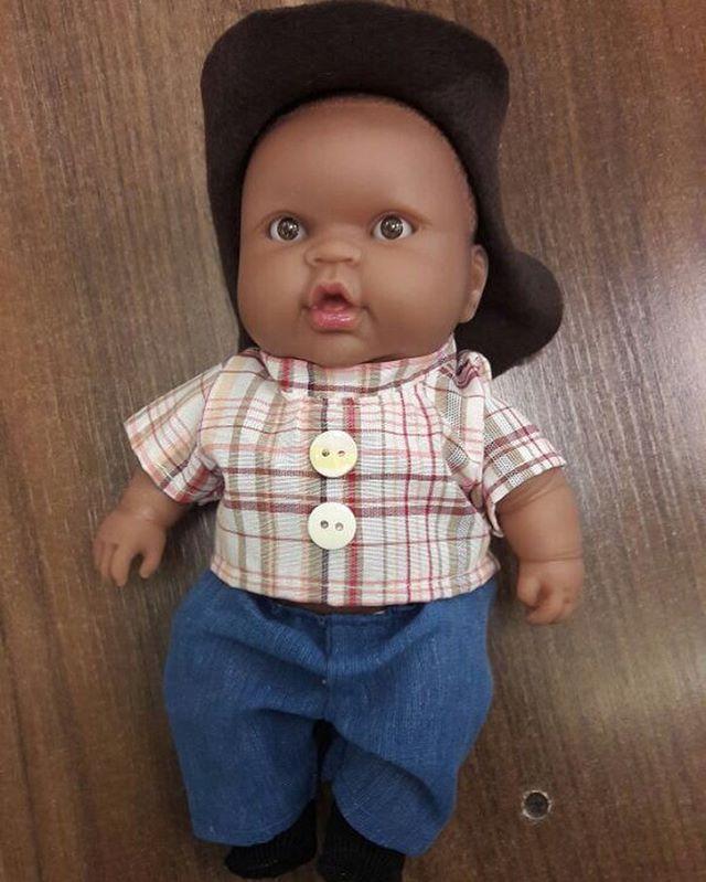 Zeca neném!kkkkkkk Vai ter uma coleção de bonecas da novela inteira...