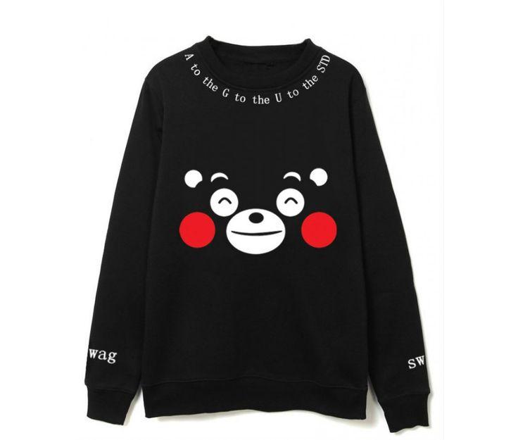 Аниме кофта медведь мем - Кумамон